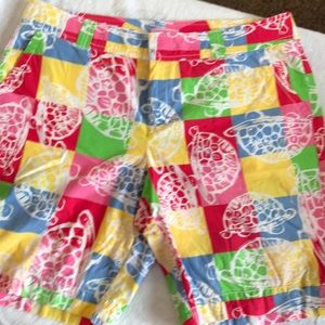 Lilly Pulitzer resort fit shorts size 14